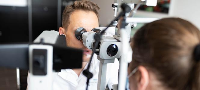 Augenuntersuchung Augenarzt Milbertshofen