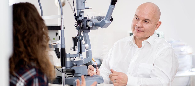 Augenarzt Dr. Frederick Jensch