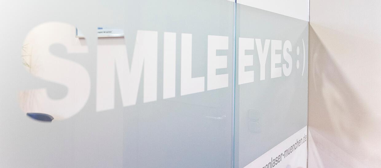 Eingangsbereich Augenarzt Giesing