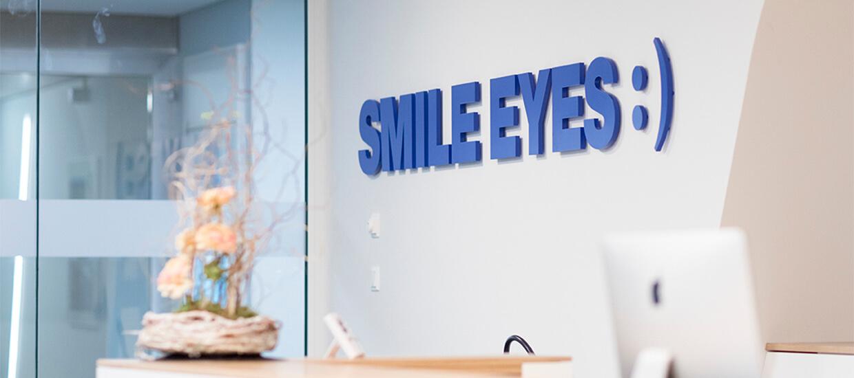 Flughafen Praxisempfang Smile Eyes