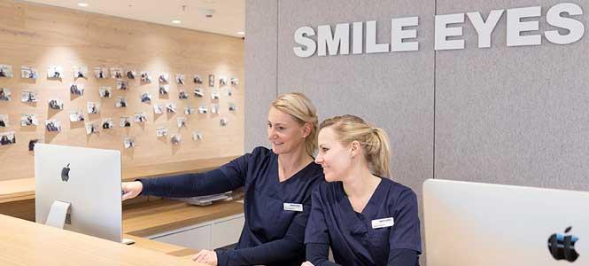 Flughafen Augen Praxis Team Mitarbeiter