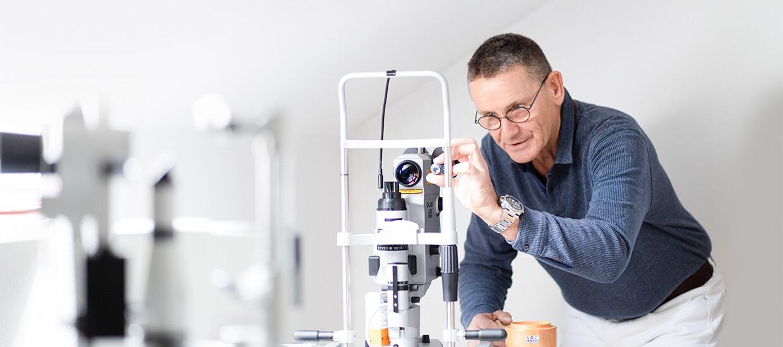Schwabinger Augenarzt Sprechzimmer