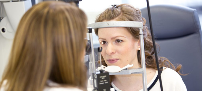 Diagnostik Untersuchung Auge
