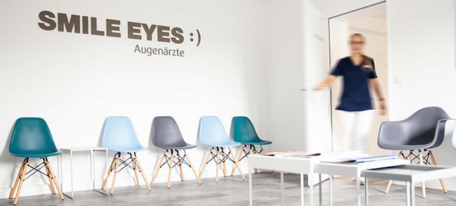 Wartezimmer Augenarzt Milbertshofen