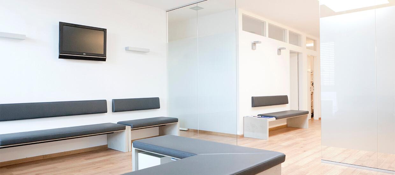 Wartezimmer für Patienten in Erding