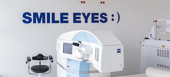 Zeiss Laser im Op Saal Smile Eyes